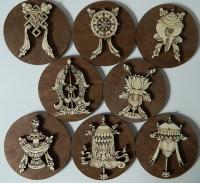 8 Тибетских символов процветания.