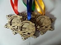 Медали горнолыжник